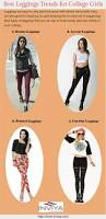 best leggings trends for college girls visual ly