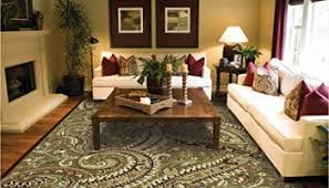 Modern Rug 8x10 New Large 8 11 Rugs For Living Room Brown Tree Leaf 8 11 8 10