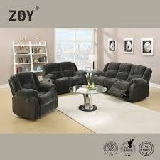 zoy modern design leather recliner furniture living room motion