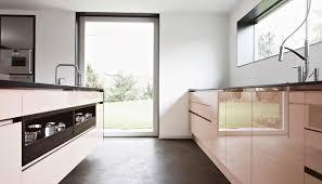 contemporary kitchen glass stone island villa regensburg