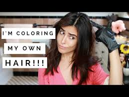 Do U Wash Hair Before Coloring - how to dye hair with pictures wikihow