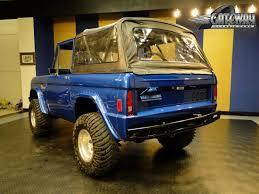 blue bronco car 1977 ford bronco gateway classic cars 5145