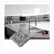 k che diy selbstklebende mosaik fliesen wand aufkleber aufkleber diy küche