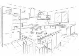 comment dessiner une cuisine dessiner plan cuisine cuisine dessiner plan cuisine fonctionnalies