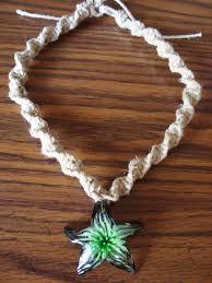 hemp necklace pendants images Spiral hemp necklace la necklace jpg