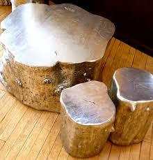 Tree Trunk Table Interior Decorating With Tree Stumps Au Naturel Homejelly