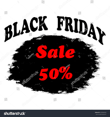 black friday sale background black white stock vector 337089224