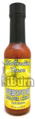 organic hot sauce dawns fervor reaper hot sauce