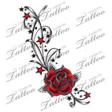 red rose vine tattoo google search tattoo pinterest rose
