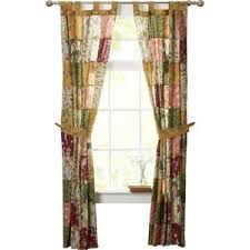John Valance Tie Top Curtains Wayfair