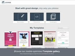 using template builder email marketing help