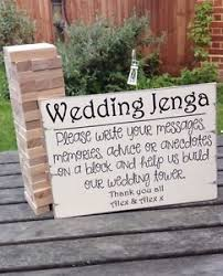 alternative guest book alternative guest book wedding sign wedding jenga sign
