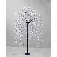 jingles 250cm willow tree with 1080 warm white led lights next