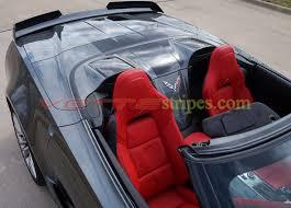 corvette grand sport accessories c7 corvette convertible rear extended stinger c7 r stripes for