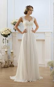 chiffon wedding dress chiffon wedding dresses flowy bridal gowns dressafford