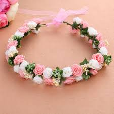 floral accessories mori girl series wedding bridal accessories wreath foam