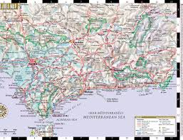 Andalucia Spain Map by Streetwise Seville Map Laminated City Center Street Map Of