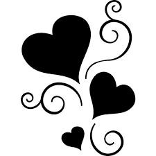 3 hearts linked cliparts free download clip art free clip art