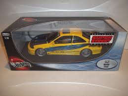 matchbox honda accord wheels honda civic super street edition yellow car die cast 1