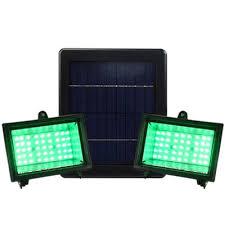 Green Flood Light Fashion Style Holiday String Lights Spotlight Flood Light Solar