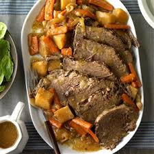cooked rump roast recipe taste of home