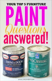 How To Paint Furniture White by Livelovediy Your Top 5 Furniture Paint Faqs Answered
