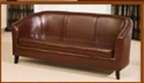 Sisi Italia Sofa Reviews Sisi Italia San Remo Bycast Leather 3 Seater Tub Sofa Amazon Co