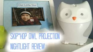 skip hop owl night light skip hop moonlight melodies nightlight soother review youtube