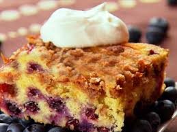 blueberry buckle recipe the neelys food network