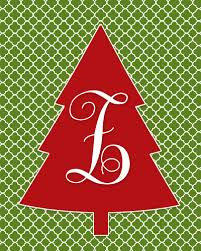 monogram christmas i should be mopping the floor free monogram christmas tree printable