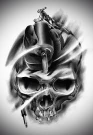 skull u0026 tattoo gun darkside pinterest tattoo tattoo designs