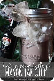 cocoa u0026 bailey u0027s mason jar gift