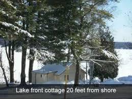 Eels Lake Cottage Rental by Lakefront Cottage Rental 7 Halls Lake Youtube