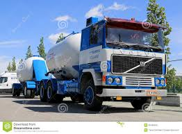 volvo heavy haulage trucks for sale classic volvo f1225 tank truck for bulk transport on display