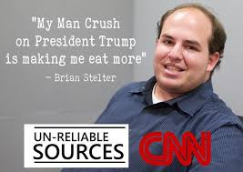 My Man Meme - brian stelter cnn man crush on donald trump meme trump memes