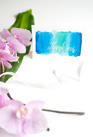 water color cards diy watercolor thank you cards design sponge