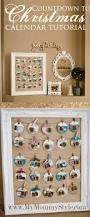 christmas countdown calendar tutorial christmas craft display