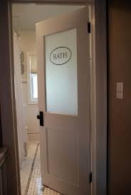 bathroom doors ideas bathroom doors with frosted glass best 25 door ideas