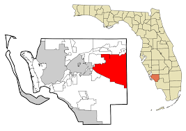 Cape Coral Zip Code Map by Lehigh Acres Florida Wikipedia