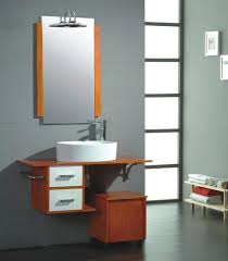 Mahogany Bathroom Vanity by Classy Storage Ideas For Small Bathroom With Brown Mahogany Vanity