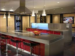 Freestanding Kitchen Furniture Kitchen Room Rolling Kitchen Cabinet Stainless Steel Top Kitchen