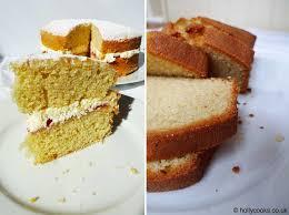 victoria sponge or madeira cake