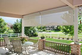 Patio Roll Down Shades Findingwinter Com Page 7 Simple Patio With Integrated Metal