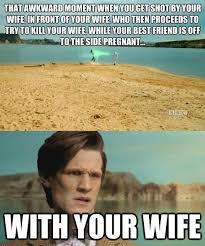 Doctor Who Meme - river you cray doctor who know your meme