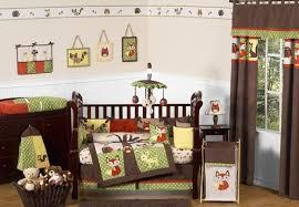 Crib Bedding Animals Woodland Forest Animals Baby Bedding 9pc Crib Set By Sweet Jojo
