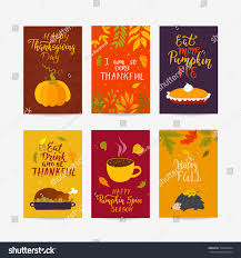 vector thanksgiving day greeting card flyer stock vector 730950304