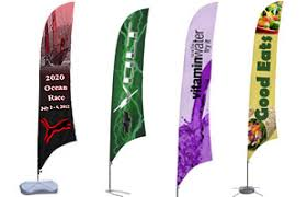 feather flags custom banners for indoor outdoor advertising