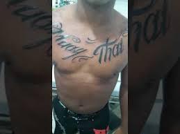 tattoo muay thai youtube