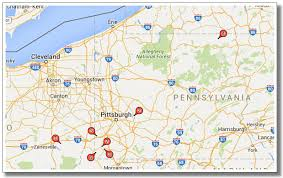Ohio Pennsylvania Map by Utica Shale Activity Highlights July 2016 Unconventional Oil