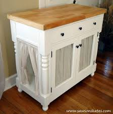 Cute Cabinet Kitty Litter Cabinet Hides Ugly Litter Box Hometalk